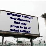 Reverse Speech billboard