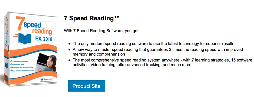 Speed Reading Software and Speed Reading e-Reader | Winning